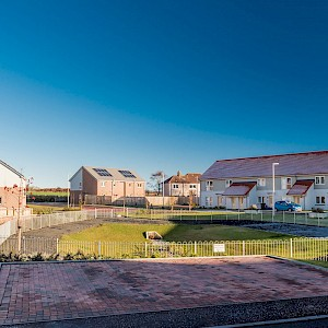 Affordable housing development at Toll Road, Guardbridge
