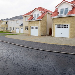 Housing development at Laurel Brae, Springfield